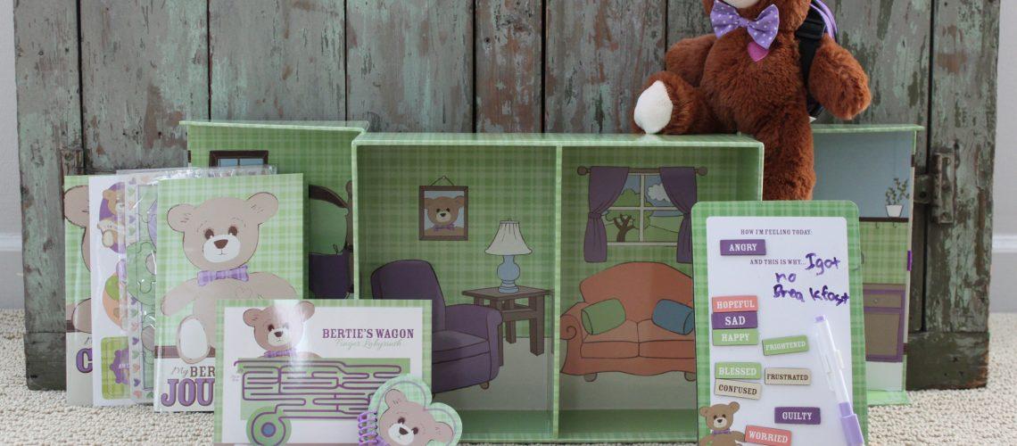 Bertie Bear kit picture 1
