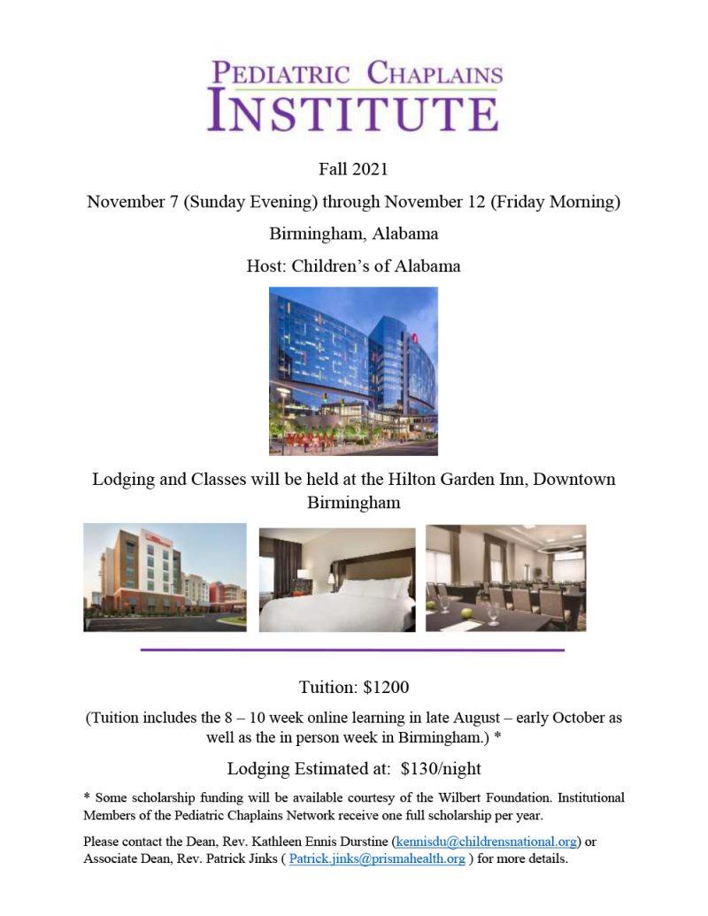 Flyer of basic info